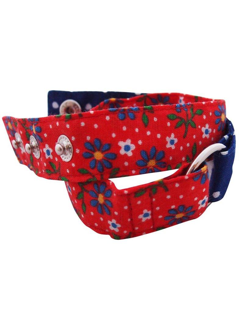 Wrap me armband Huisteil flowerdots