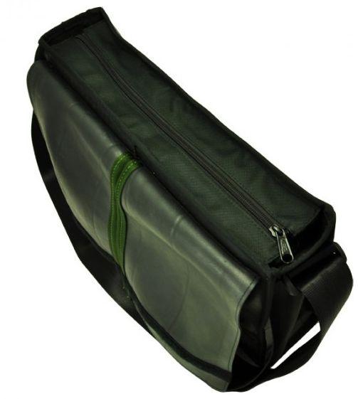 Laptop eco tas groen