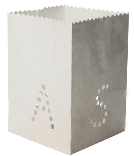 Papieren lantaarns Xmas