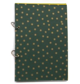 Gadanke {Joy} christmas journal north star green