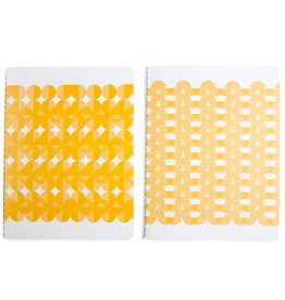 Wow goods Set notebooks circles yellow