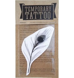 De krantenkapper Tattoo pauwenveer