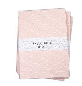 Bl-ij Notepad grid pink