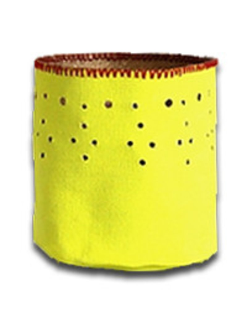 Kaarshouder canvas shocking yellow