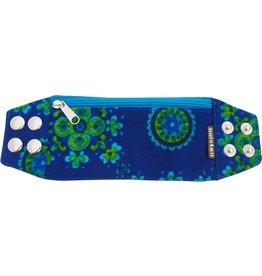Huisteil creaties Zipper bracelet vintage blue S/M