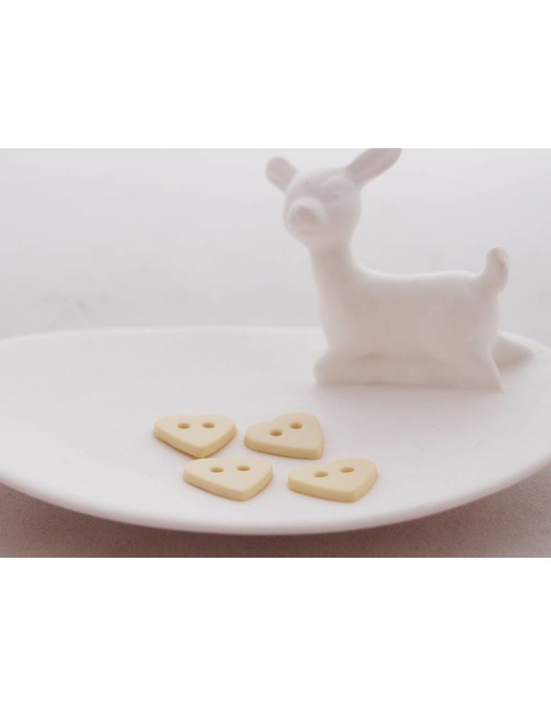 Harten knoopjes pistache