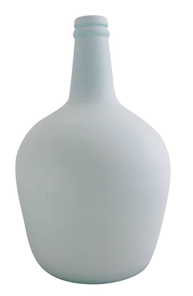 Flessenvaas pastelblauw