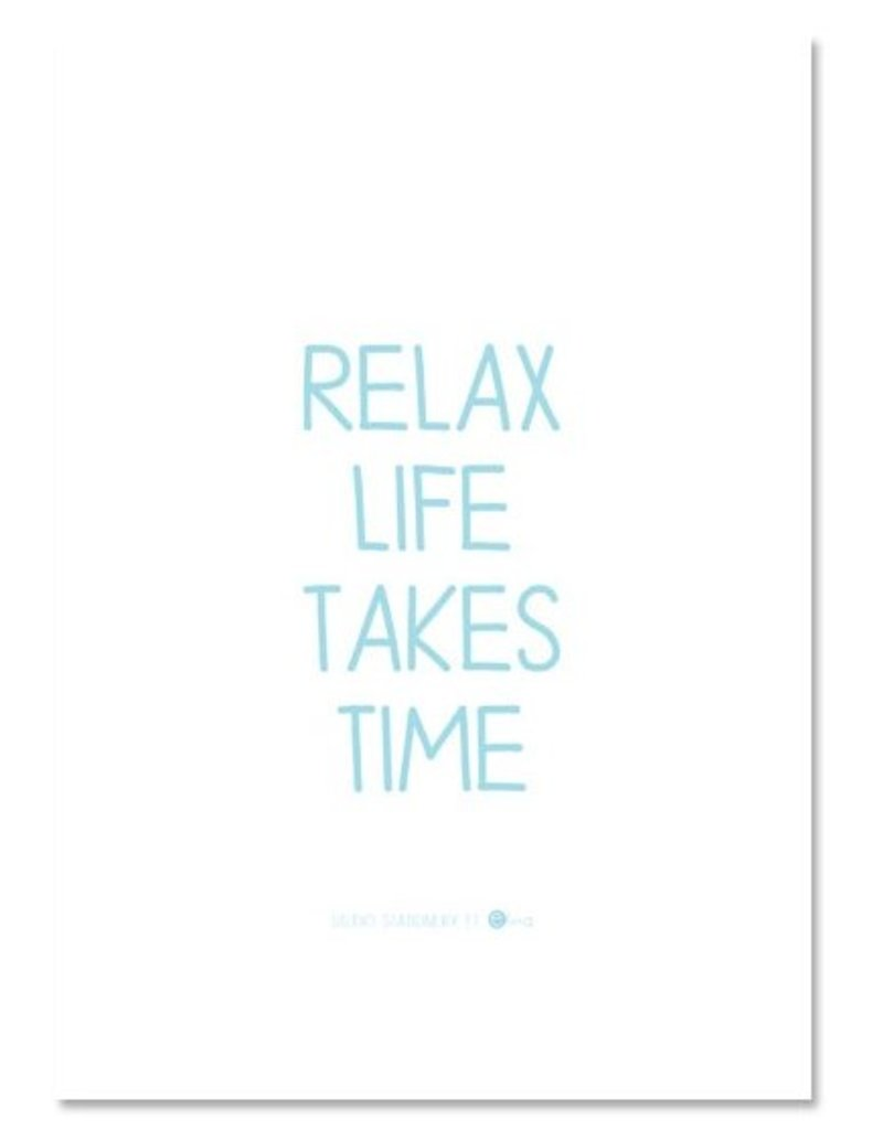 Mini poster Relax