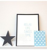 Mini poster Relax