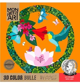 Mini Labo 3D kleurplaat Le Colibri