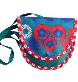 Huisteil creaties Handbag retro heart