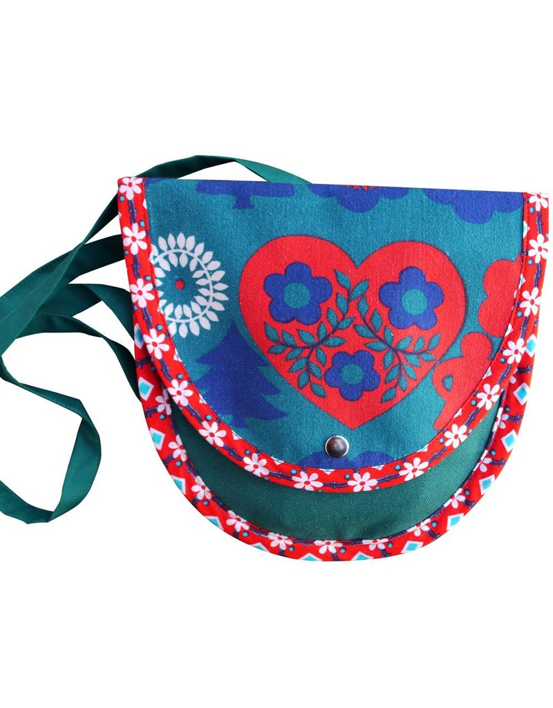Handbag retro heart