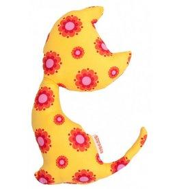 Dig&Mig Knuffel katje geel