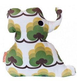 Dig&Mig Knuffel olifant groen