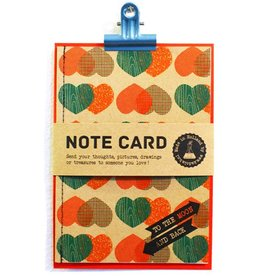 Kadolab Note card to the moon & back
