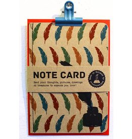 Kadolab Note card veer & inktpot