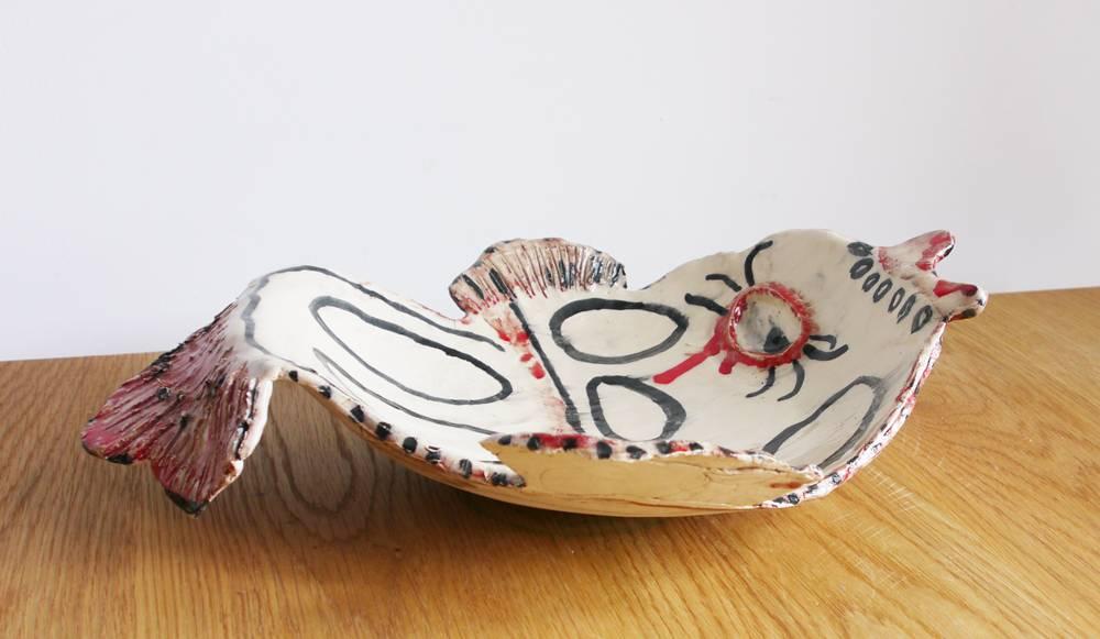 Designer schaal Judith Janssen Vis