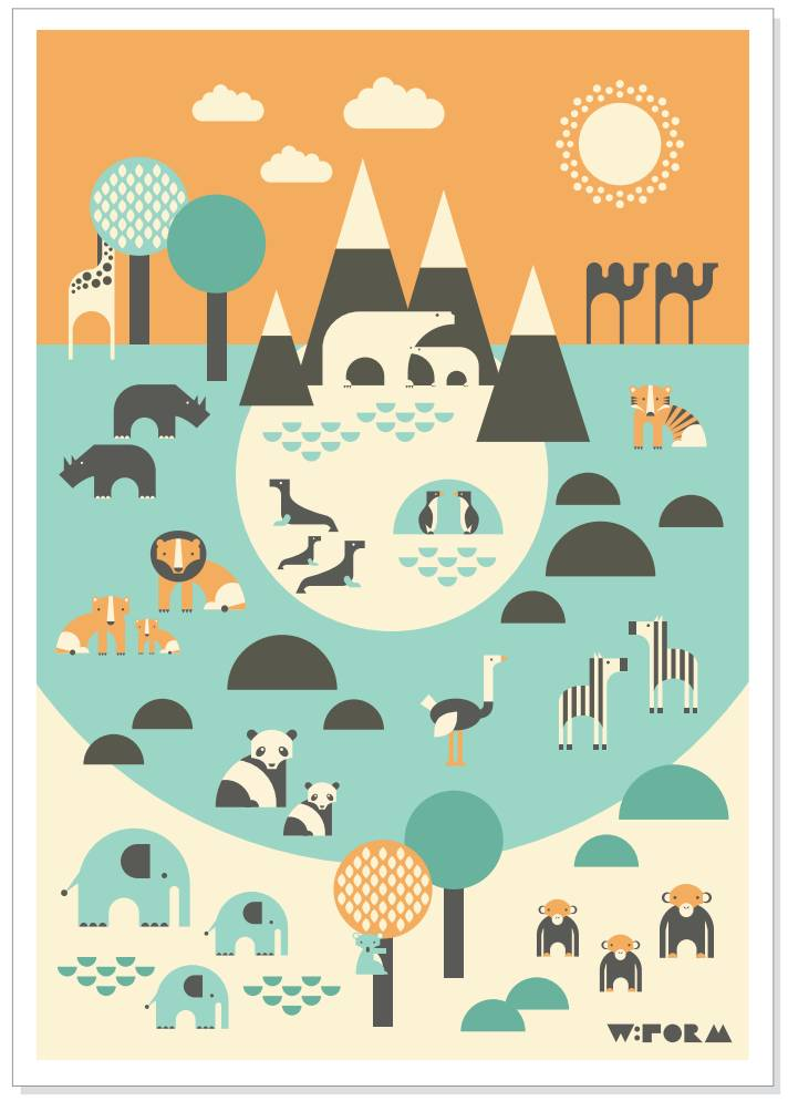 Poster W:form Zoo