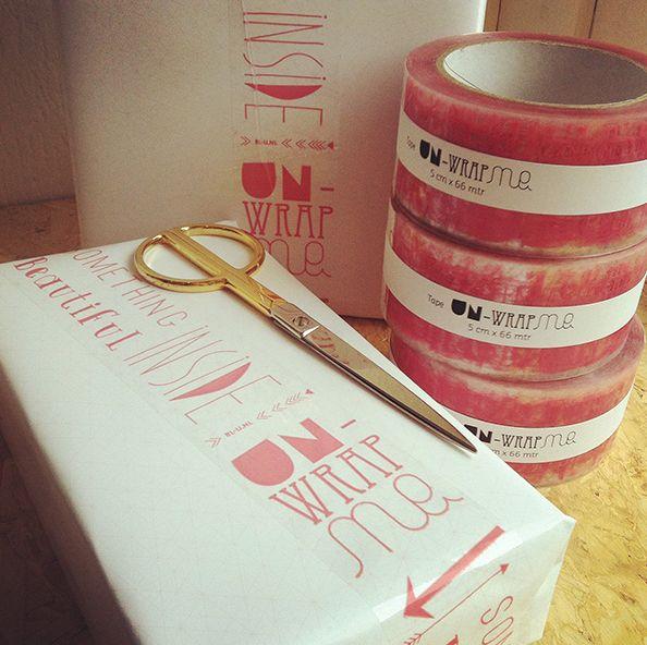 Un-wrapMe tape roze