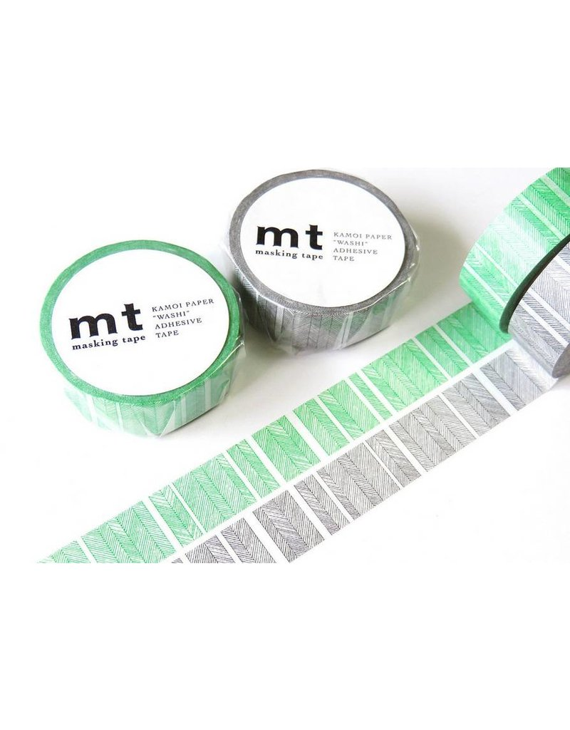 MT masking tape script border monochrome