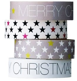 MT  Set Bloomingville masking tape Kerst
