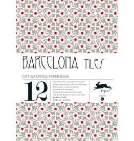 Pepin Press Cadeau & creatief papierboek Barcelona tiles