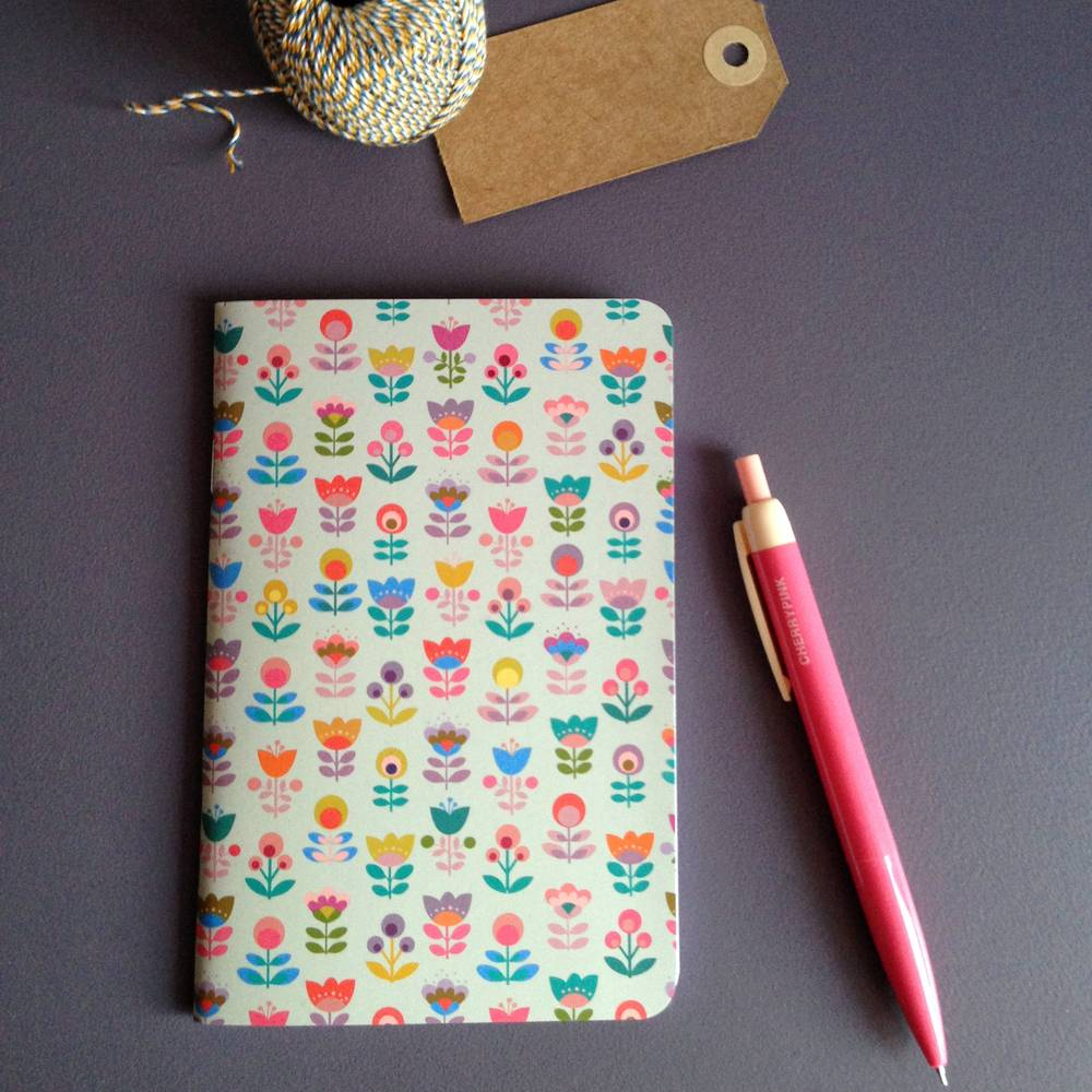 Notebook soda bloom