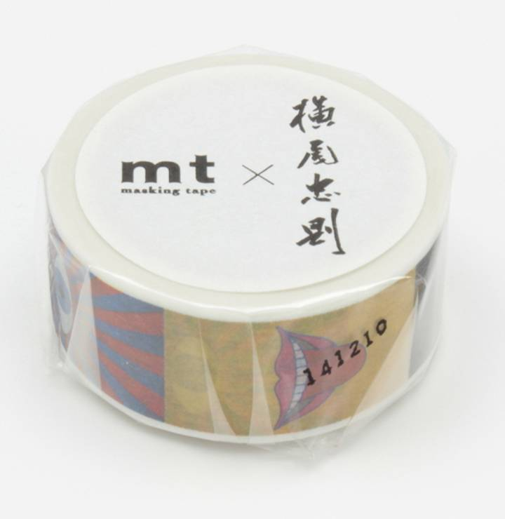 MT masking tape ex Tadanori Yokoo eye and mouth