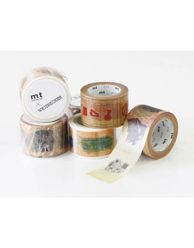 MT masking tape ex Philippe Weisbecker camera