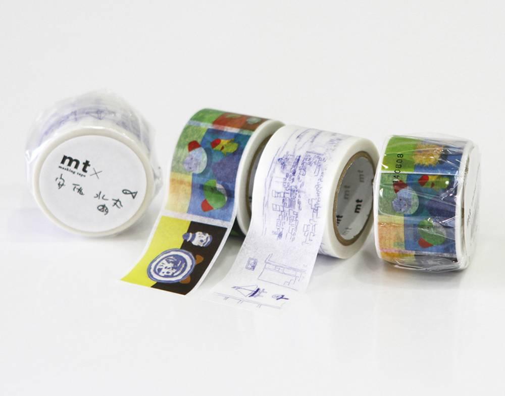 MT masking tape ex Mizumaru Anzai drawing
