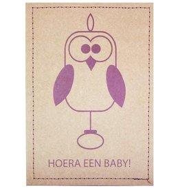 Hoera een baby! Kaart & bloemzaadjes