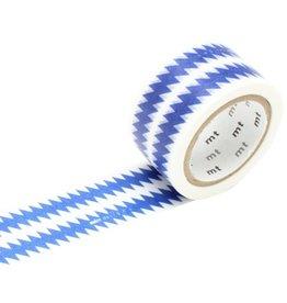 MT  MT masking tape ex ZigZag blue