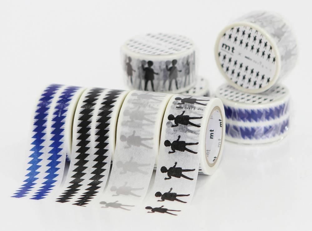 MT masking tape ex ZigZag blue