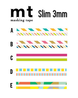 MT masking tape super slim E