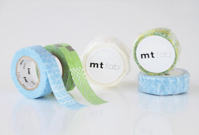 MT masking tape fab flocky square