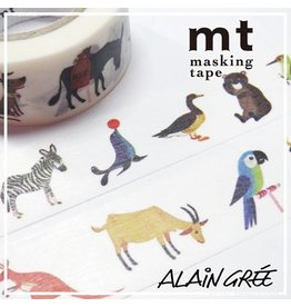 MT  MT masking tape ex Alain Grée animal