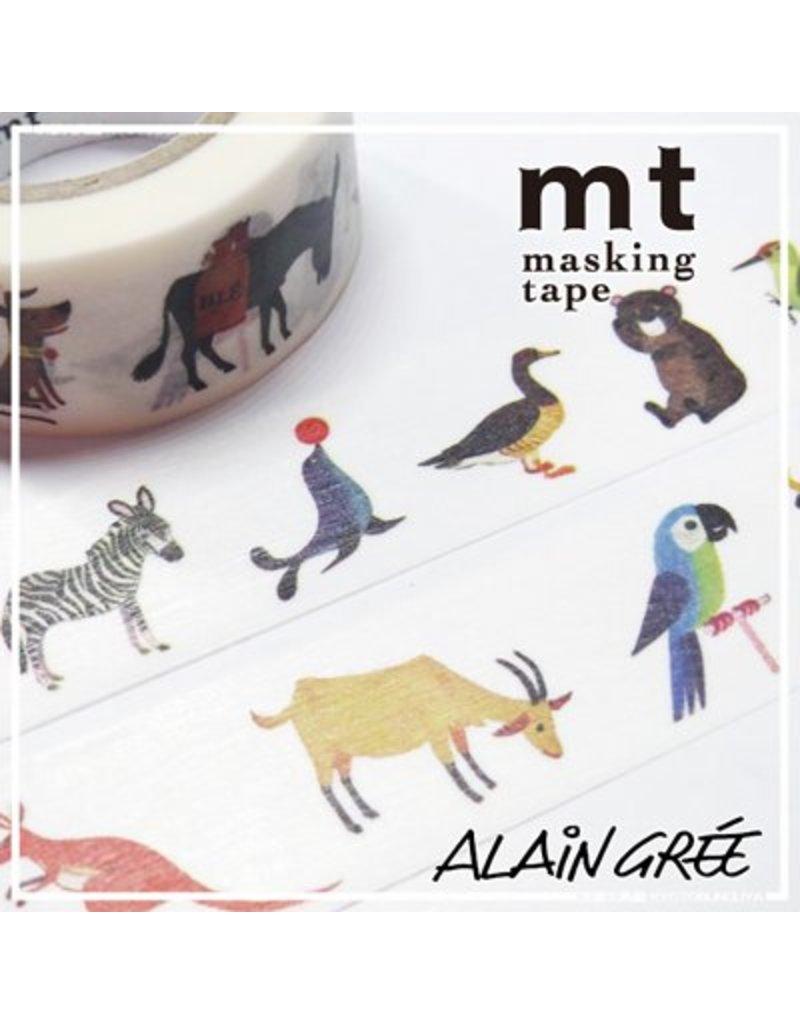 MT masking tape ex Alain Grée animal