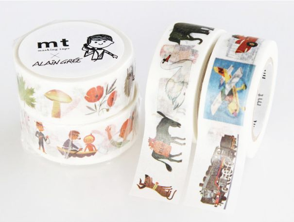 MT masking tape ex Alain Grée animal