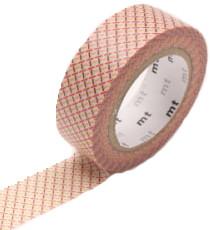 MT masking tape hasen red