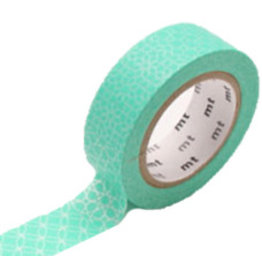 MT  MT masking tape line pattern green