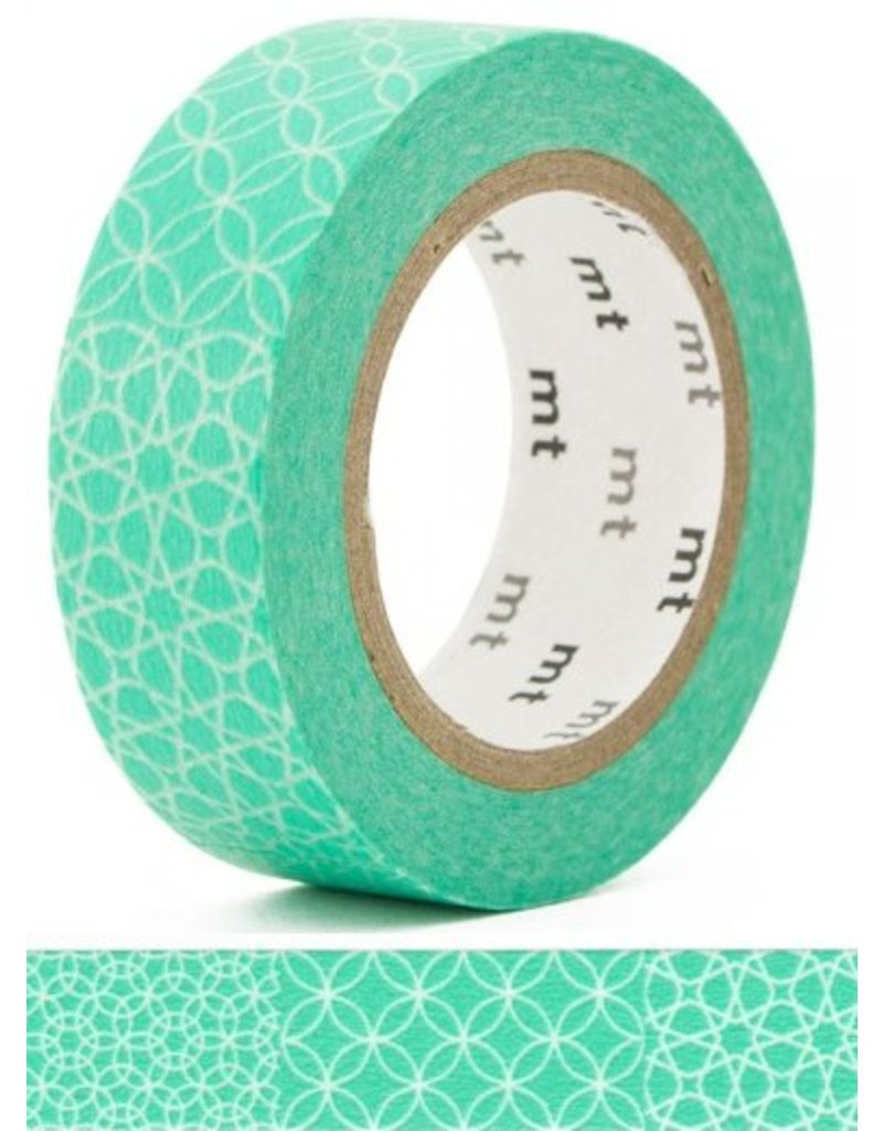 MT masking tape line pattern green