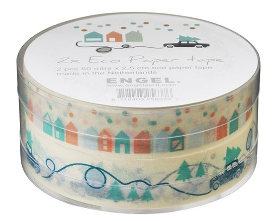 Winter tape eco papier