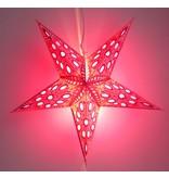 Kerstster tinkel pink