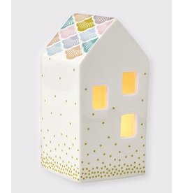 Mini Labo Porseleinen kaars huisje