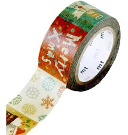 MT  MT masking tape Kerst prints