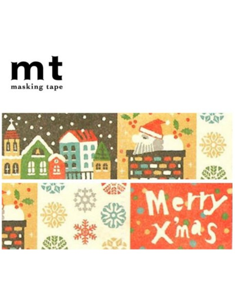 MT masking tape Kerst prints