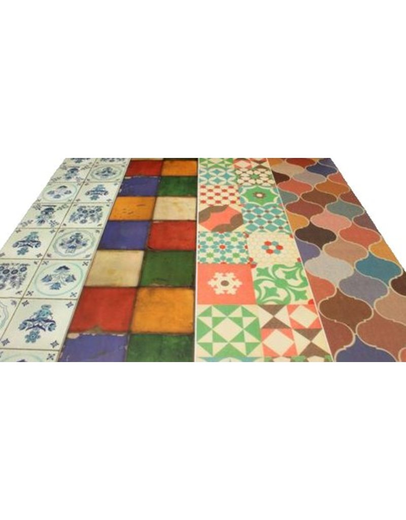 MT casa tile flower 100 mm