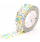 MT masking tape sankaku blue