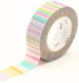 MT  MT masking tape multi border pastel