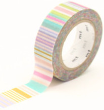 MT masking tape multi border pastel